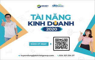 Nhân viên Kinh doanh Website oto.com.vn