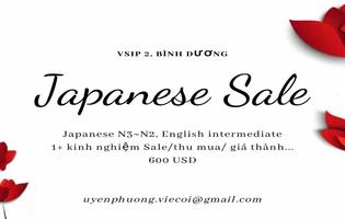 JAPANESE SALE [NỮ/BÌNH DƯƠNG]