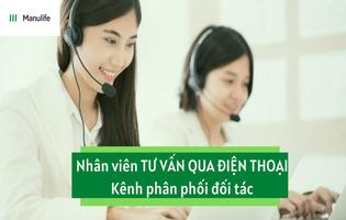 Nhân viên tư vấn qua điện thoại - Quận 4/Bình Thạnh