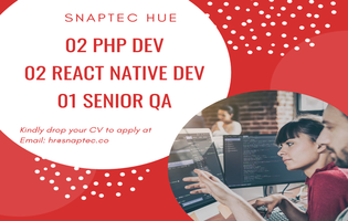 PHP & React Native Developer
