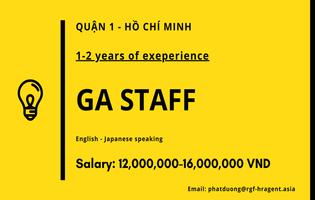 GA Staff - Japanese Speaking