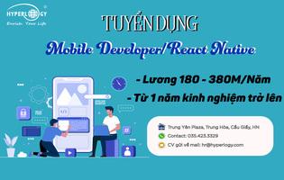 React Native/Mobile Developer tại Hà Nội
