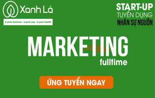 Nhân Viên Marketing Online Toàn thời gian