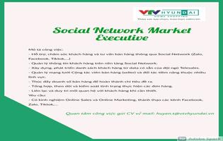 Social Network Market Executive