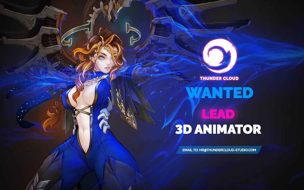 Lead 3D Animator Game