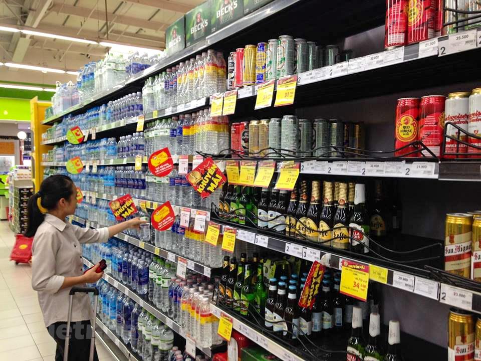 Nhân viên bán hàng tiêu dùng
