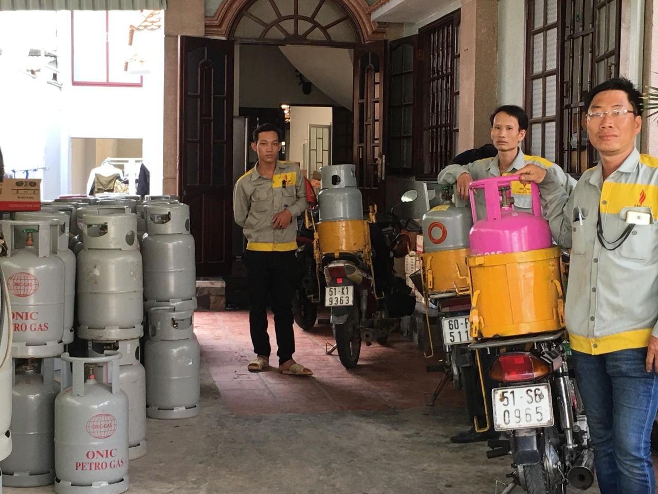Nam giao gas khu vực Long Thành