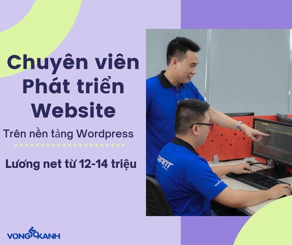 Chuyên viên Phát triển Website