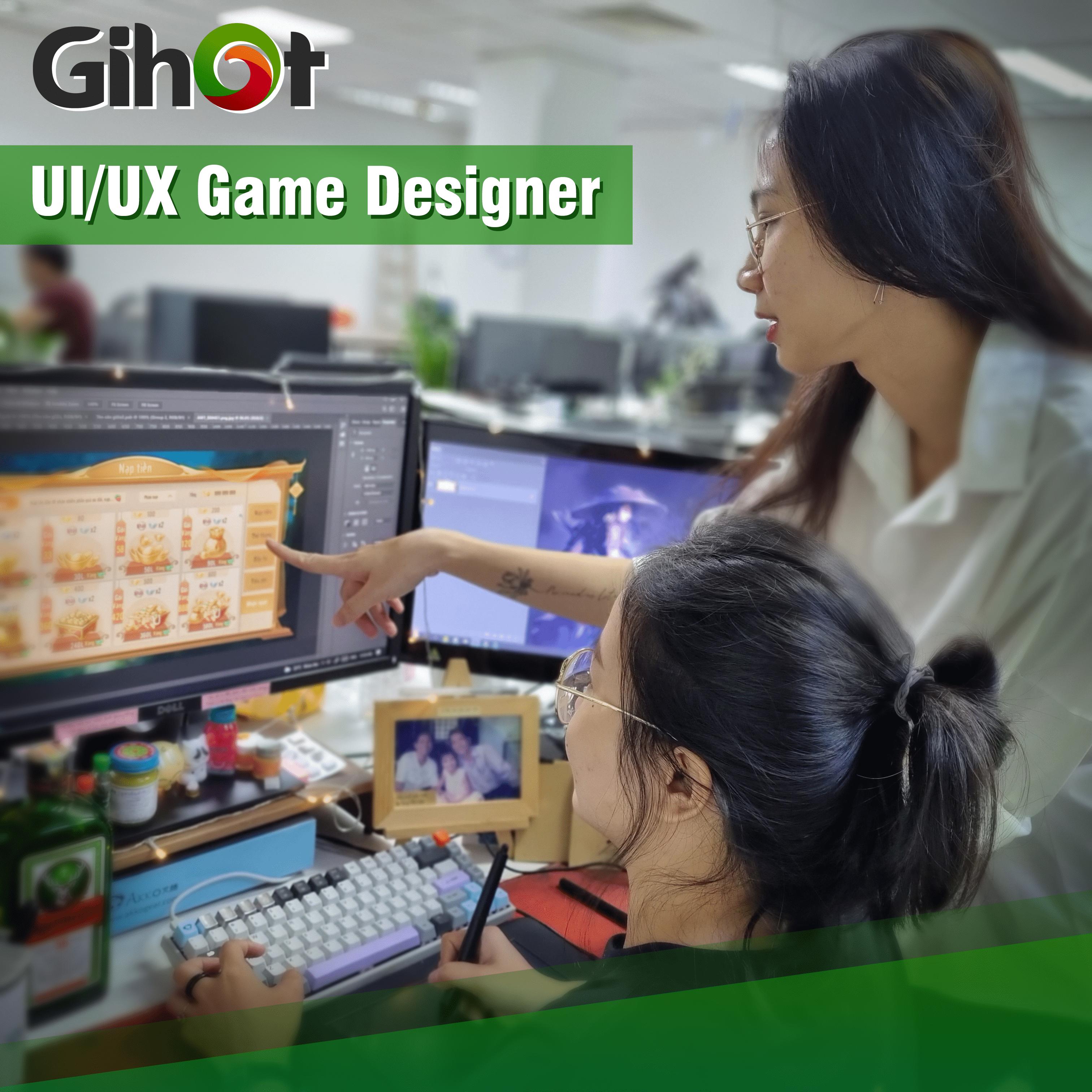 UI/UX Game Designer