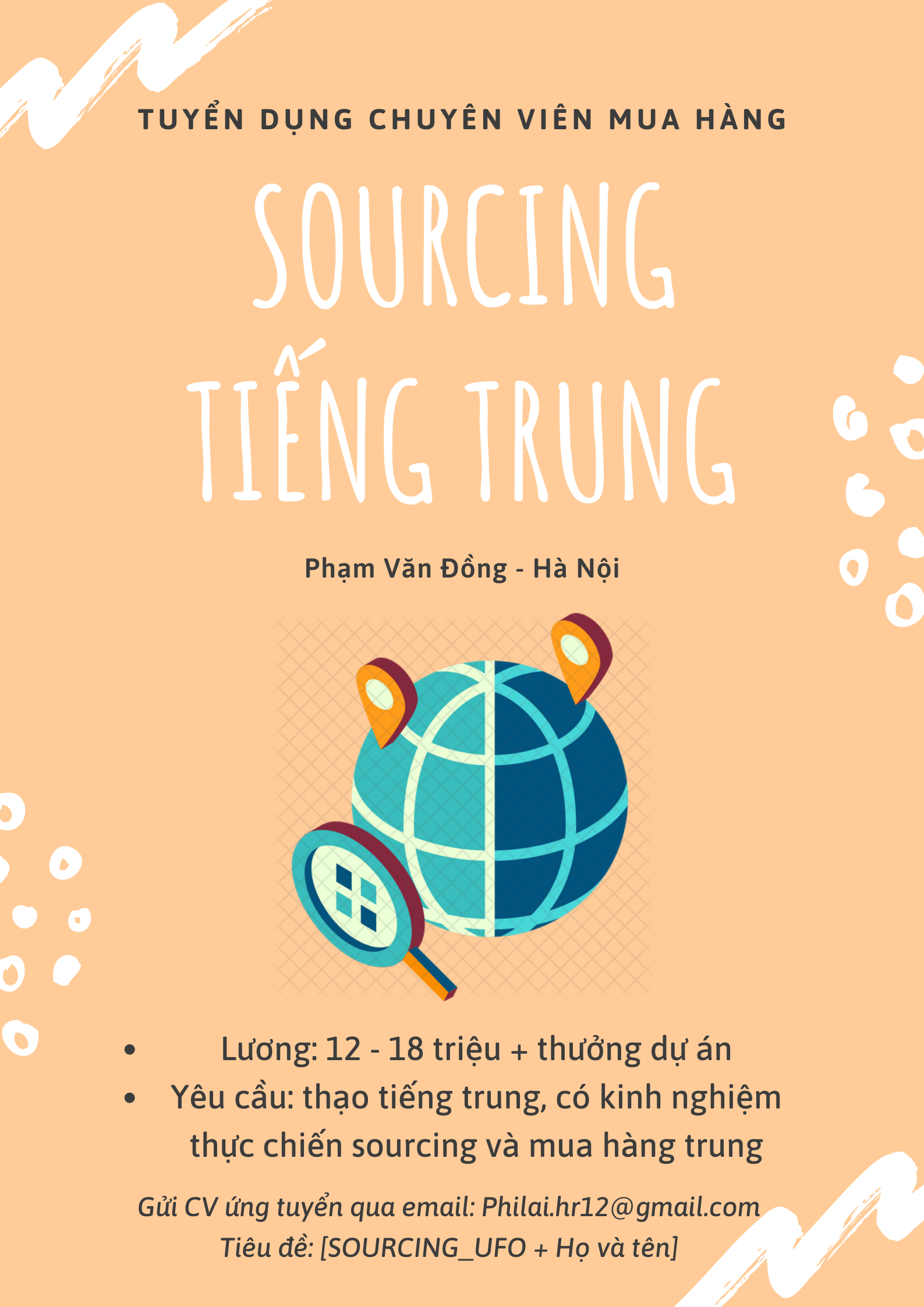 SOURCING TIẾNG TRUNG