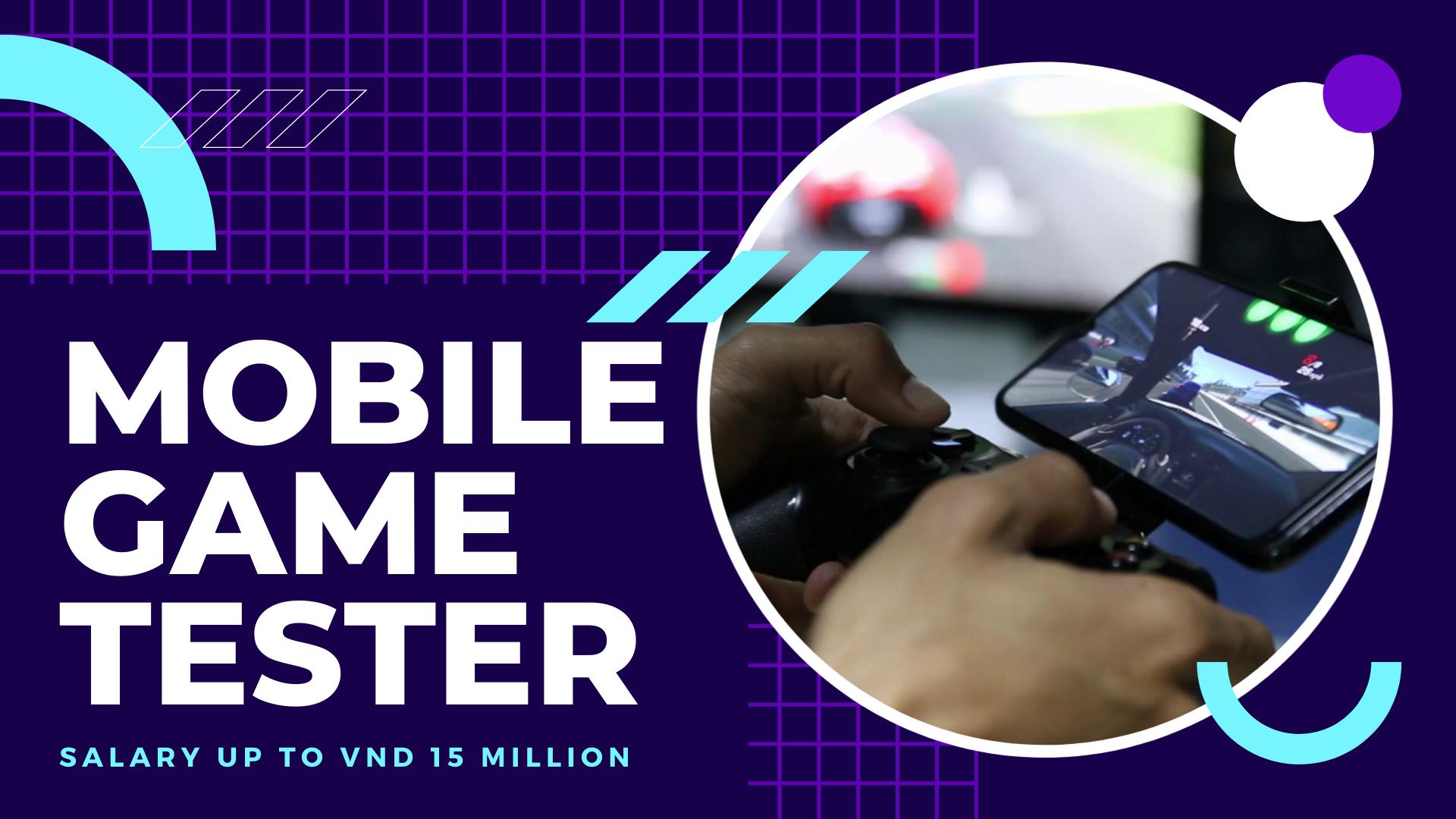 Game Mobile Tester