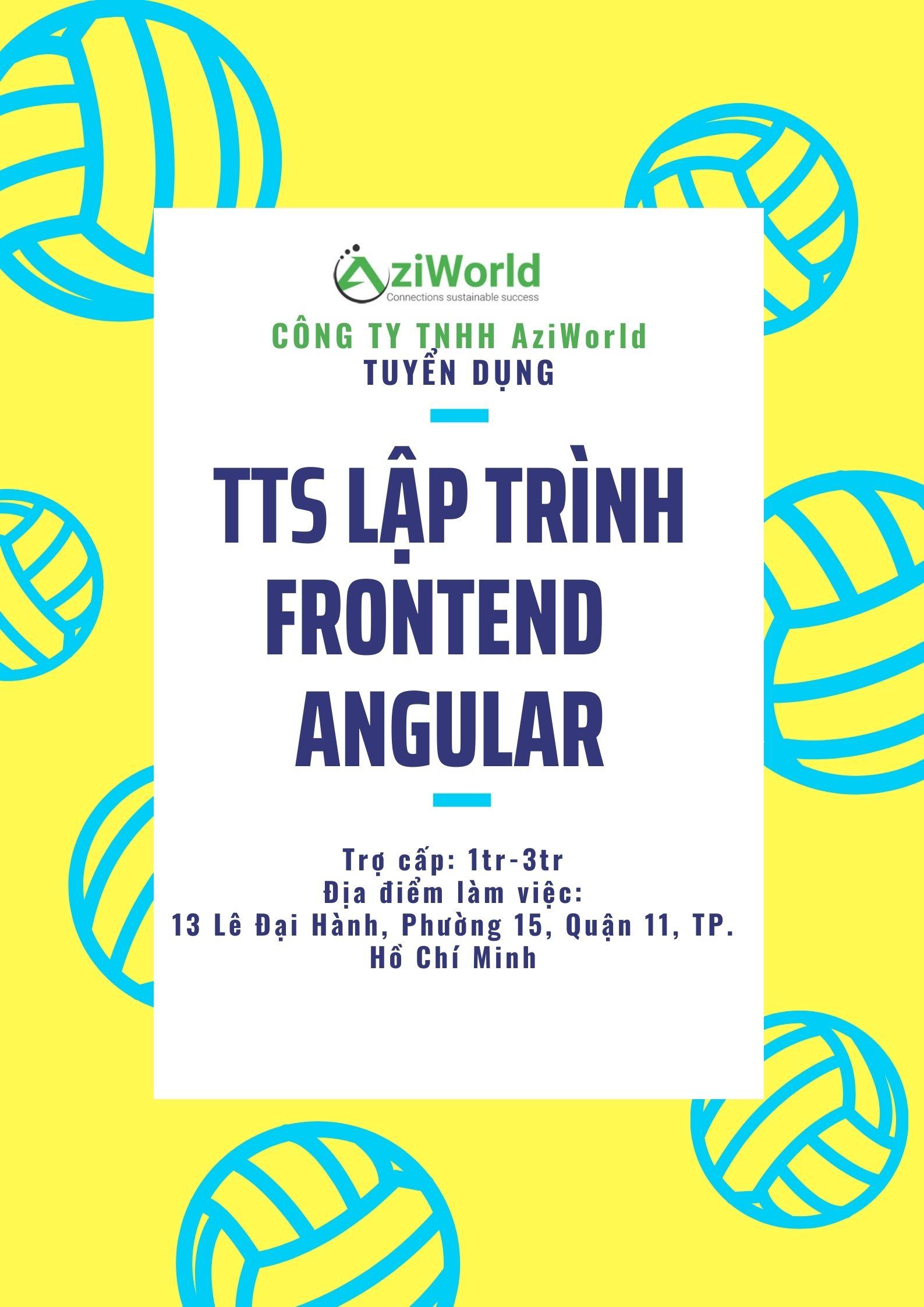TTS Lập trình FrontEnd- Angular
