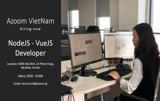 Fullstack Developer (NodeJS/Javascrip/Vue/Python/PHP) - upto 50 triệu